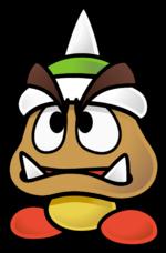 150px-Spiky Goomba - Paper Mario The Thousand-Year Door