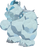 Bowsersnowstatue