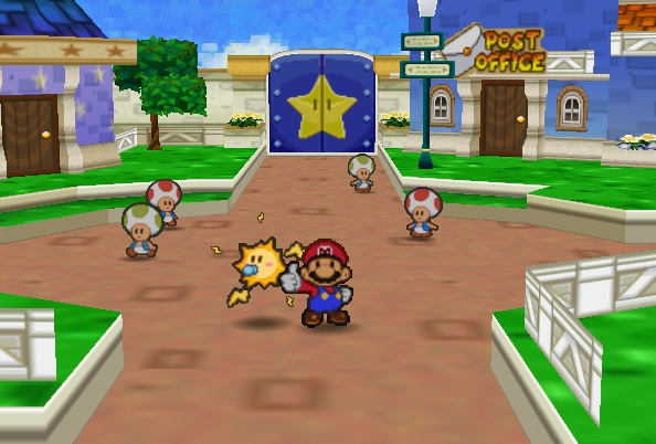 Toad Town   Paper Mario Wiki   FANDOM powered by Wikia