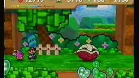 Paper Mario battle Kent C.Koopa