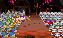 PMTTYD Twilight Town battle