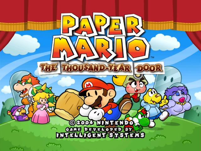 papermario thousand year door
