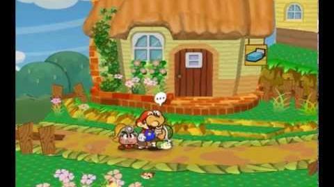 Paper Mario TTYD - Running through NPCs