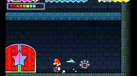 Super Paper Mario Life Shroom Jump 2-1