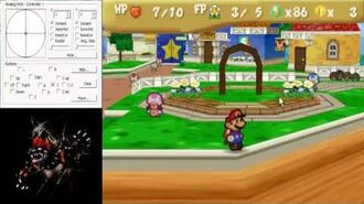 Paper Mario Black Toad Skip Tutorial