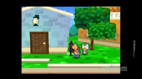 Possible Glitch for Paper Mario 64