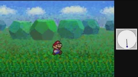 Paper Mario log skip with controller input
