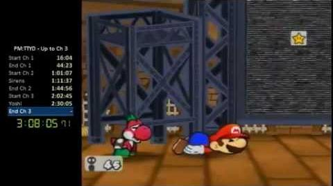TTYD - What NOT to do in a speed run - Damage from environment