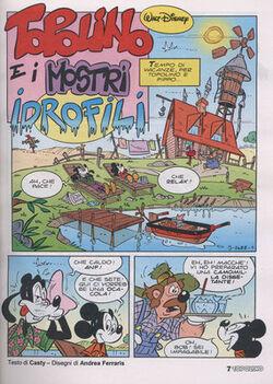 Topolino e i mostri idrofili