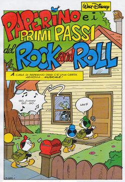 Paperino e i primi passi del Rock and Roll