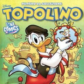 Cover di Topolino 3315, Variant, dell'autrice in occasione di Etna Comics 2019
