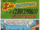Zio Paperone e il clavicembalo scrivano