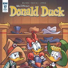 Copertina dell'autore di Donald Duck 384C