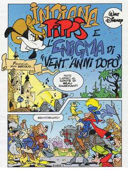 Indiana Pipps e l'enigma di Vent anni dopo