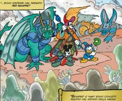 Wizards of Mickey 22