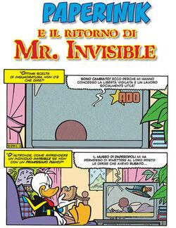 Mr. Invisibile