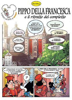 Pippo della Francesca e il ritratto del complotto
