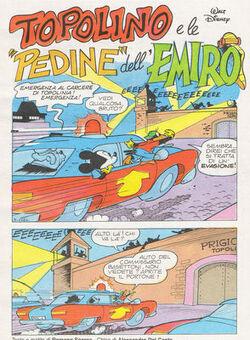 Topolino e le pedine dell'emiro