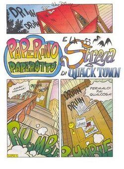 Paperino paperotto e la strega di Quack Town