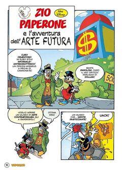 Zio Paperone e l'avventura dell'arte futura