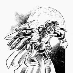 Pikappa disegnato da Alessandro Pastrovicchio nel 2012 per la testata PK - Il mito.