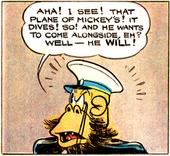 Pirata Orango primo piano