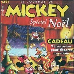 Copertina disegnata da Romano Scarpa per lo speciale natalizio della testata francese <a class=