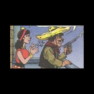 Il bandito con la fidanzata Rosa