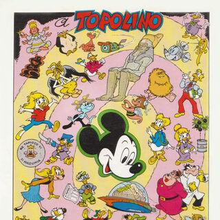 Poster contenente tutti i personaggi ideati da <a href=