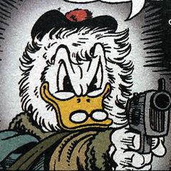 Cuordipietra con la sua pistola