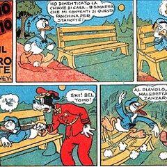 Debutto in italia di Paolino paperino