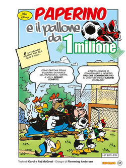 Paperino e il pallone da 1 milione