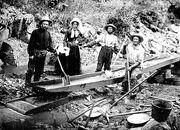 Cercatori d'oro in california 1848