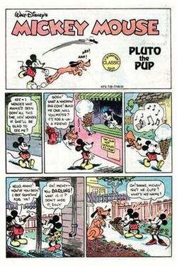 Topolino incontra Pluto