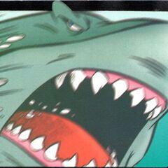 La prima inquadratura chiara del volto di Davy Jones