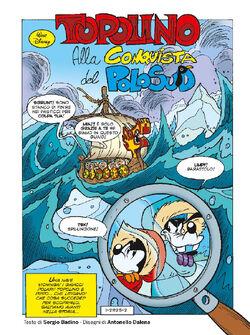 Topolino alla conquista del Polo Sud