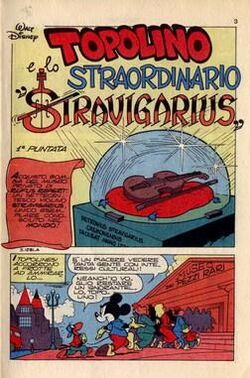 Topolino e lo straordinario Stravigarius