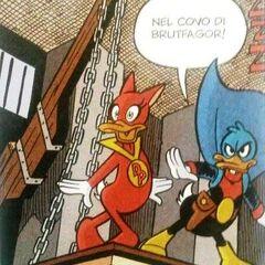 Fantomius e Dolly Paprika nel covo di <a href=