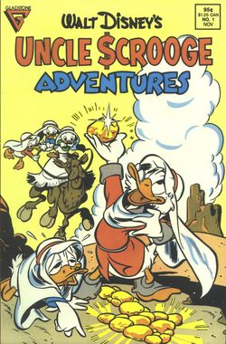 Gladstone uncle scrooge adventures