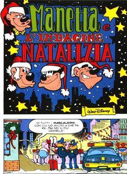 Manetta indagine natalizia