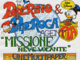 """Paperino & Paperoga agenti PiA """"Missione neve volante"""""""