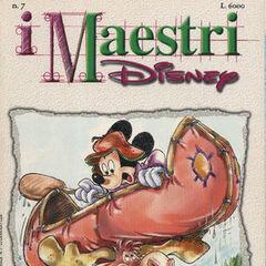 Copertina della testata <i>I Maestri Disney</i> numero 7.