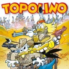 Copertina di Topolino 2964 dedicata alla storia <i>Bum un ranger in azione</i>.
