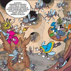 La tana dei formicotteri