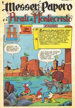 Messer Papero e i pirati di Montecristo