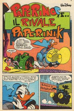Paperinik e il rivale Paperink