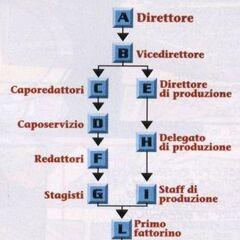 Organizzazione interna di Canale 00