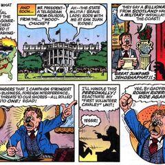 Roosvelt decide di intervenire di persona per scacciare l'<a class=