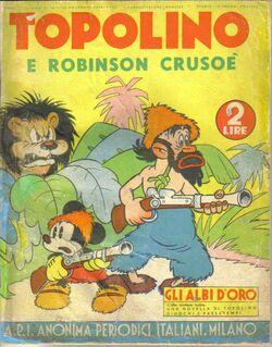Topolino e Robinson Crusoe