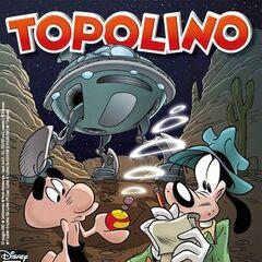 Copertina di Topolino 2947 dedicata al decimo episodio della serie: <i><a href=